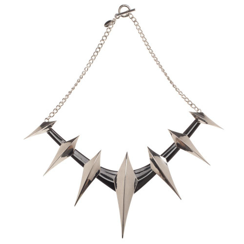 Marvel Black Panther Spike Cosplay Collar Necklace