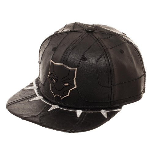 Marvel Black Panther Suit Up Snapback Cap