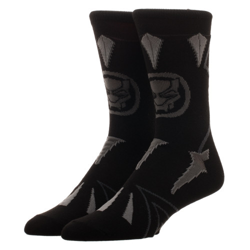 Marvel Black Panther Suit Up Crew Sock