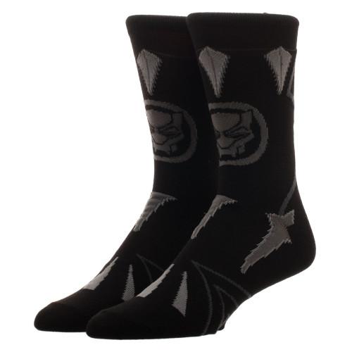 Marvel Black Panther Suit Up Crew Sock