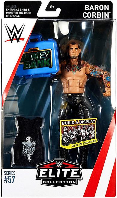 WWE Wrestling Elite Collection Series 57 Baron Corbin Action Figure [Entrance Shirt & Money in the Bank Briefcase]
