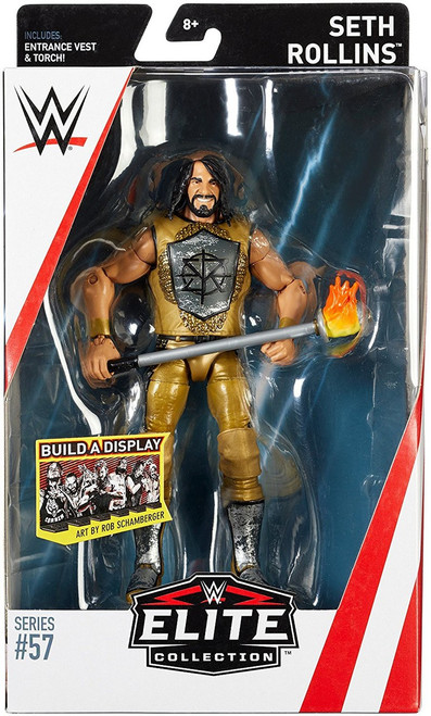 WWE Wrestling Elite Collection Series 57 Seth Rollins Action Figure [Entrance Vest & Torch]