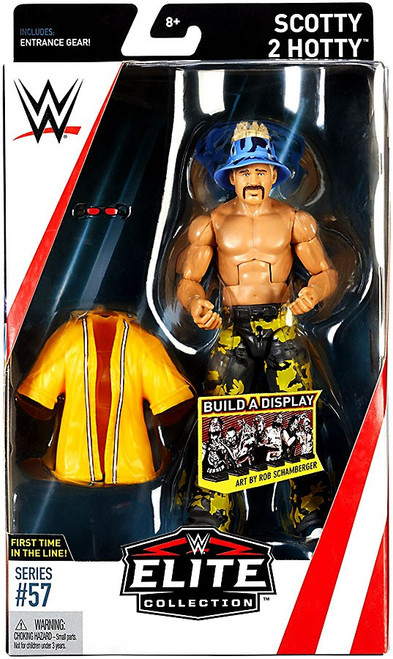 WWE Wrestling Elite Collection Series 57 Scotty 2 Hotty Action Figure