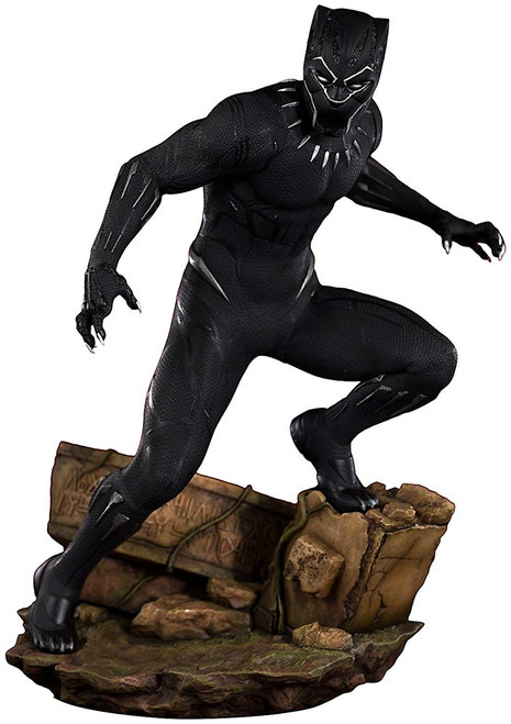 Marvel ArtFX+ Black Panther 12.5-Inch Statue [Movie Version]