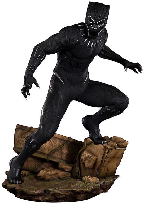 Marvel ArtFX+ Black Panther 12.5-Inch Statue [Movie Version]