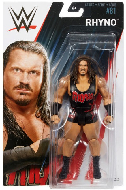 WWE Wrestling Series 81 Rhyno Action Figure