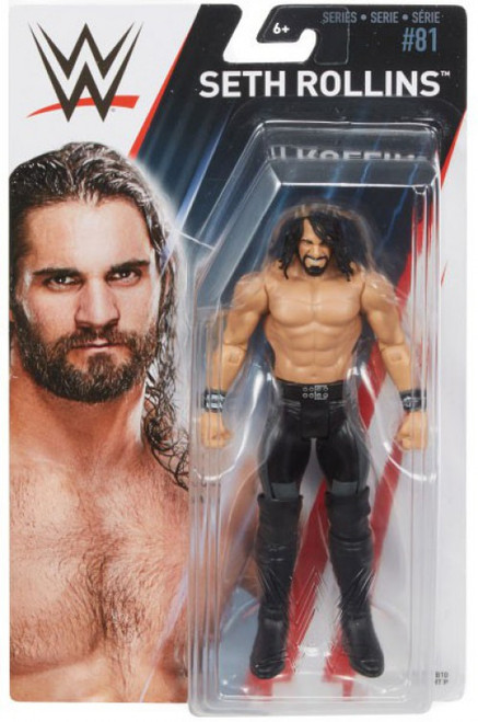 WWE Wrestling Series 81 Seth Rollins Action Figure
