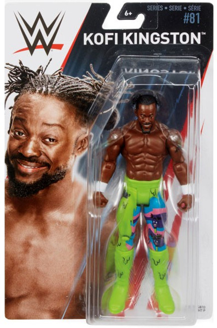 WWE Wrestling Series 81 Kofi Kingston Action Figure