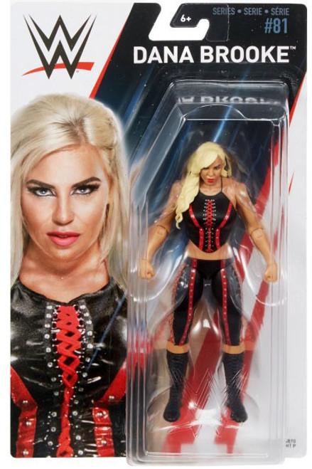 WWE Wrestling Series 81 Dana Brooke Action Figure