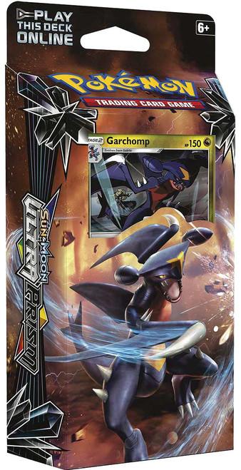 Pokemon Trading Card Game Sun & Moon Ultra Prism Mach Strike Theme Deck [Garchomp]