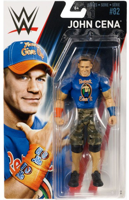 WWE Wrestling Series 82 John Cena Action Figure