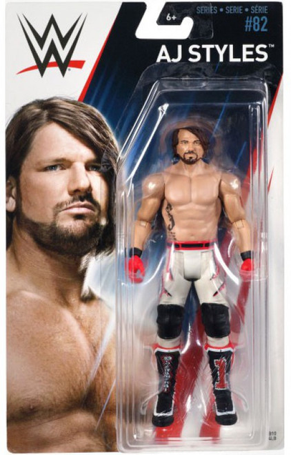 WWE Wrestling Series 82 AJ Styles Action Figure