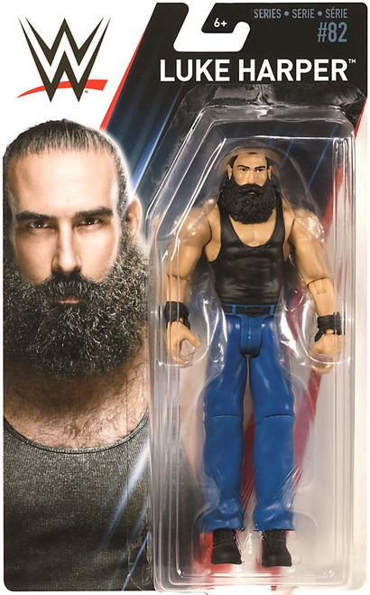 WWE Wrestling Series 82 Luke Harper (Brodie Lee) Action Figure