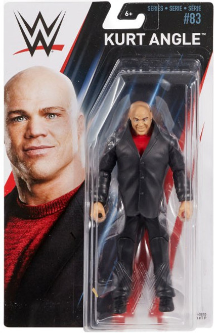 WWE Wrestling Series 83 Kurt Angle Action Figure