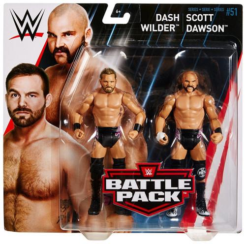 WWE Wrestling Battle Pack Series 51 Scott Dawson & Dash Wilder Action Figure 2-Pack [The Revival]