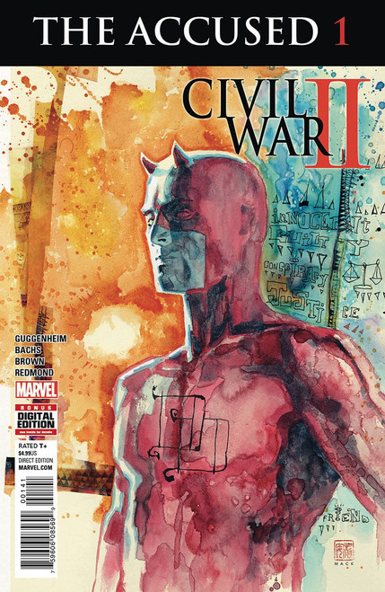 Marvel Comics Civil War II The Accused #1 Comic Book