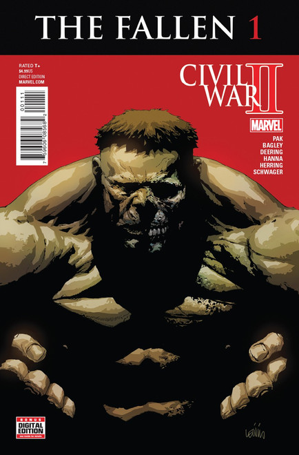 Marvel Comics Civil War II The Fallen #1 Comic Book