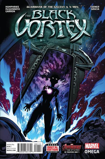 Marvel Comics Guardians of the Galaxy & X-Men #1 The Black Vortex Comic Book [Omega]