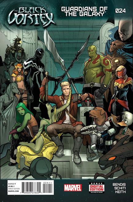 Marvel Comics Guardians of the Galaxy #24 The Black Vortex Comic Book