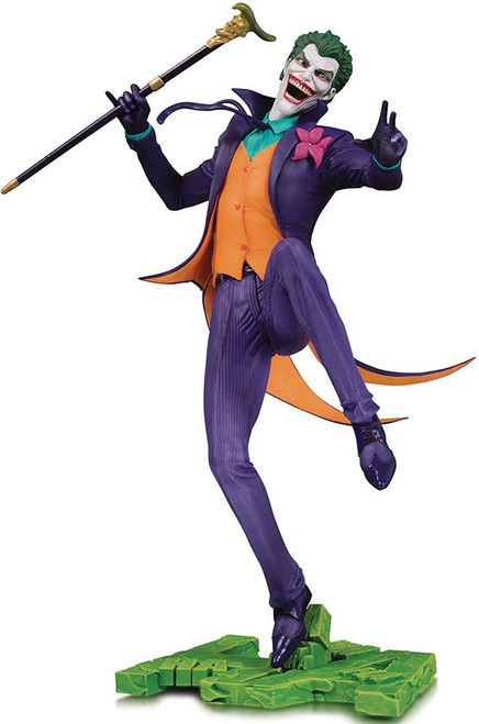 DC Core The Joker 11-Inch Collectible PVC Statue