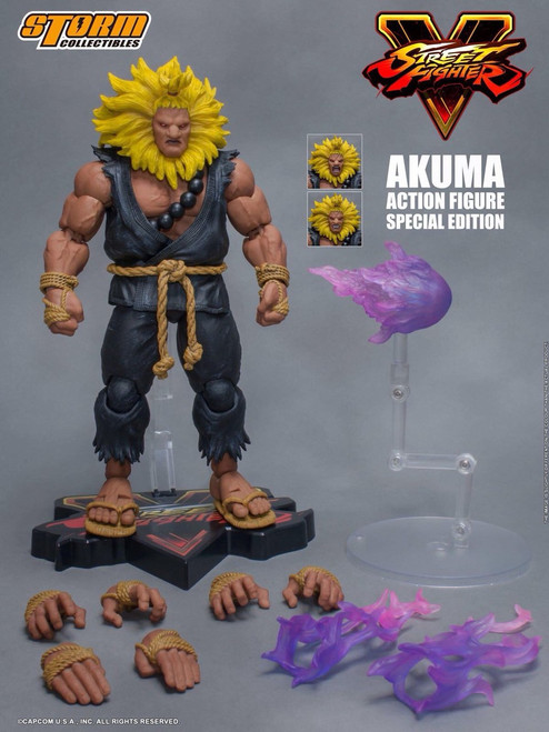 Street Fighter V Akuma Action Figure [Special Edition]