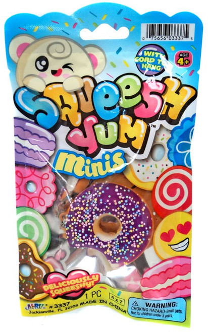 Squeesh Yum Minis Donuts Mini Squeeze Toy [Random Color]