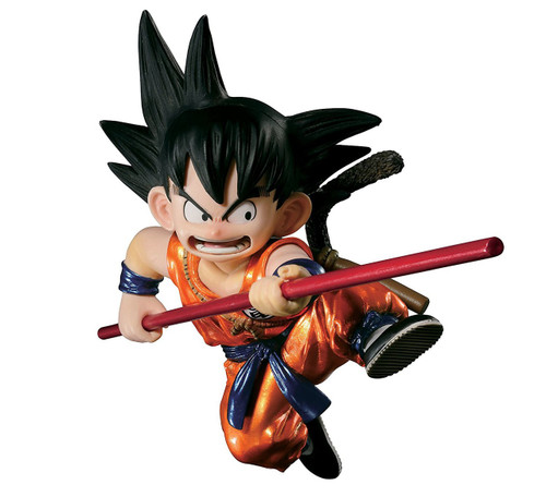 Dragon Ball SCultures Young Son Goku Figure [Special Color Version]