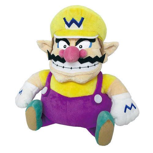 Super Mario Wario 10-Inch Plush