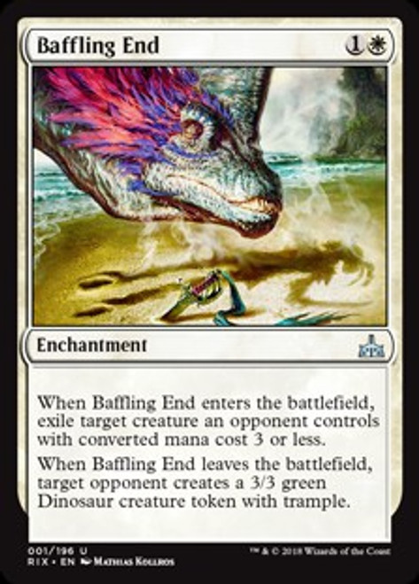 MtG Rivals of Ixalan Uncommon Baffling End #1