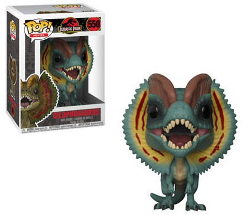 Funko Jurassic Park POP! Movies Dilophosaurus Vinyl Figure #550 [Regular Version, Flaps Out]