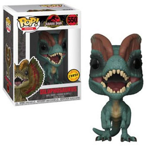 Funko Jurassic Park POP! Movies Dilophosaurus Vinyl Figure #550 [Chase Version]