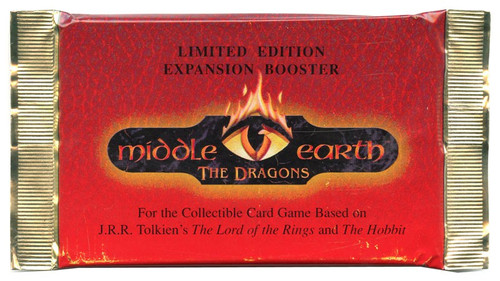 The Lord of the Rings Middle-Earth CCG The Dragons Booster Pack [15 Cards]