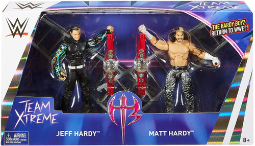 WWE Wrestling Battle Pack Epic Moments Jeff Hardy & Matt Hardy Action Figure 2-Pack [Hardy Boyz (Team Xtreme)]
