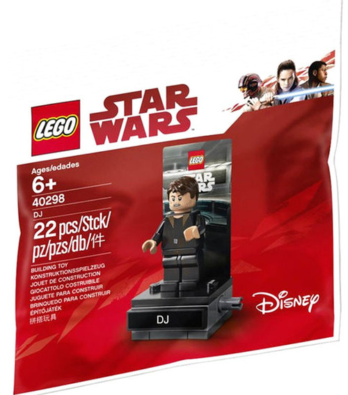 LEGO Star Wars The Last Jedi DJ Set #40298 [Bagged]