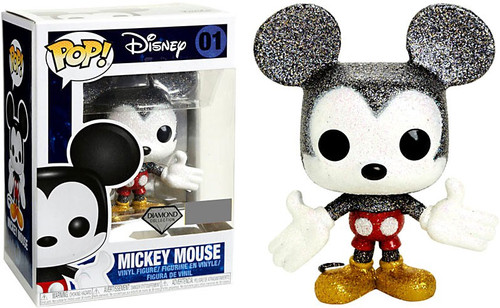 Funko POP! Disney Mickey Mouse Exclusive Vinyl Figure #01 [Diamond Collection]