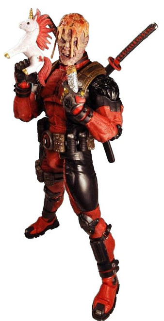 NECA Marvel X-Men Quarter Scale Deadpool Action Figure [Ultimate Version]