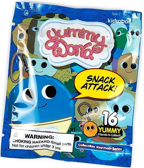 Yummy World Vinyl Keychain Snack Attack 3-Inch Mystery Pack [1 RANDOM Figure]