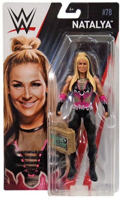 WWE Wrestling Series 78 Natalya Action Figure [Money in the Bank Briefcase]