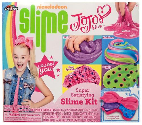 Nickelodeon JoJo Siwa Super Satisfying Slime Kit