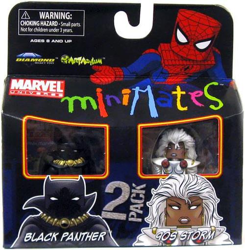 Marvel Universe Minimates Series 29 Black Panther & 90s Storm Minifigure 2-Pack