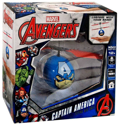 Marvel Avengers Captain America Flying UFO Ball