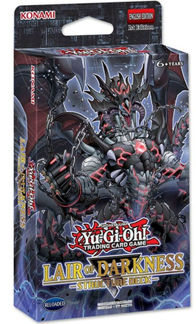 YuGiOh Trading Card Game Lair of Darkness Structure Deck