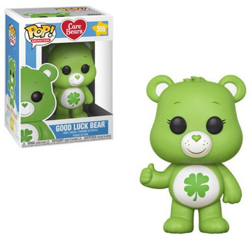 Funko Care Bears POP! Animation Good Luck Bear Vinyl Figure #355 [Regular Version]
