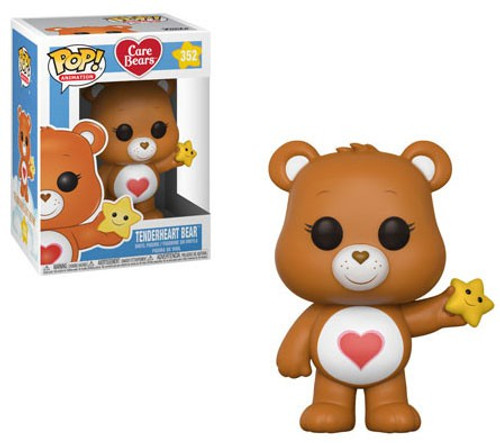 Funko Care Bears POP! Animation Tenderheart Bear Vinyl Figure #352