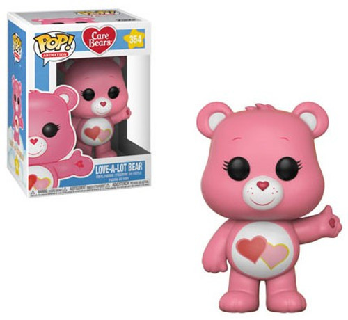 Funko Care Bears POP! Animation Love-A-Lot Bear Vinyl Figure #354 [Regular Version]