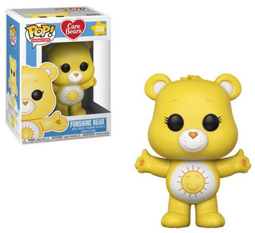 Funko Care Bears POP! Animation Funshine Bear Vinyl Figure #356 [Regular Version]