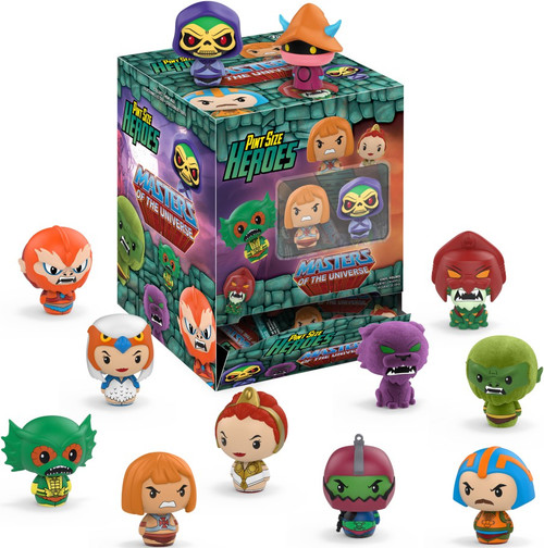 Funko Pint Size Heroes Masters of the Universe Mystery Box [24 Packs]