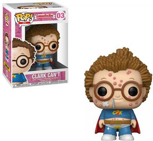 Funko Garbage Pail Kids POP! GPK Clark Can't Vinyl Figure #03