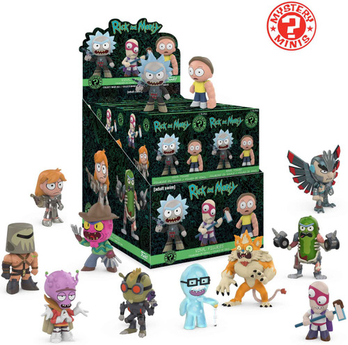 Funko Mystery Minis Rick & Morty Series 2 Mystery Box [12 Packs]