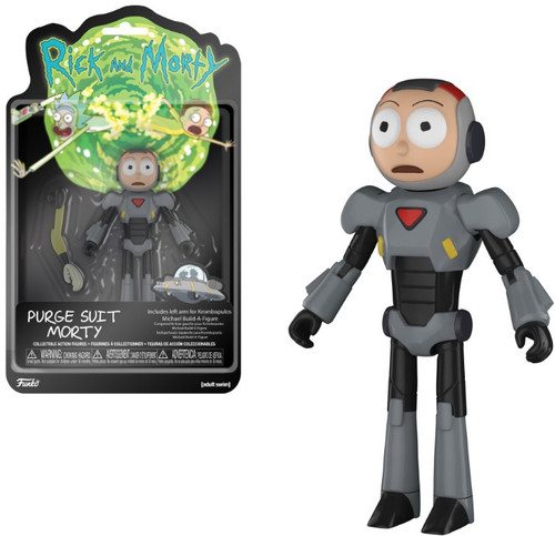 Funko Rick & Morty Morty Purge Suit Action Figure [Build Krombopulos Michael Part]
